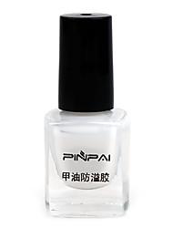 ongles crème manucure bord poli outil gradient overflow adhésif d'impression de colle empêchant sec blanc transparent
