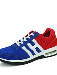 Masculino-RasosRasteiro-Cinza Laranja Azul Real-Couro Ecológico-Para Esporte