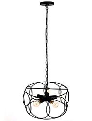 60W Lampe suspendue ,  Contemporain / Traditionnel/Classique / Rustique / Vintage / Rétro / Lanterne Peintures Fonctionnalité for Style