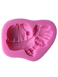Baby Hats Silicone Cake Mold  SM-514