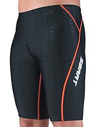 Sbart Men's Swimwear Breathable / Compression / Lightweight Materials Swimwear Bottoms Strings Black BlackXL