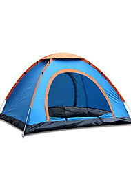 盛源 Waterproof  Breathability  Windproof  Ultra Light(UL) Polyester Taffeta One Room Tent Green  Blue