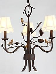 40W Lustre ,  Contemporain Peintures Fonctionnalité for Style mini MétalSalle de séjour / Chambre à coucher / Salle à manger /