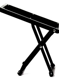 Classical guitar multi-speed adjustment metal footstool