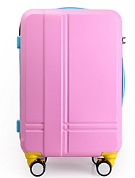 Unisex-Outdoor-PVC / Metal-Luggage-White / Pink / Green / Yellow / Fuchsia