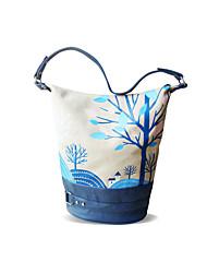Fleur Princess® Femme Toile Sac à Bandoulière Bleu-A201110232