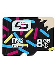 TF tarjeta de memoria 8gb Xidao class10 de 10 MB / s