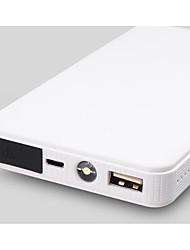 6000mAh puissance multi démarrage d'urgence de voiture de fonction super mince sur téléphone mobile alimentation mobile