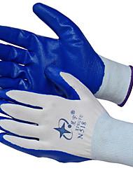 нитрильного погружают мягкий нейлон скольжения ПРОРЕЗИНЕННЫЕ перчатки