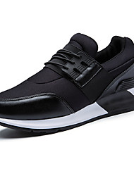 Men's Shoes Casual/Travel Fashion Fabric Breathable Mesh Shoes Black/Red