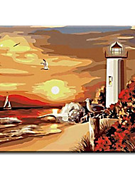 on wall decorative Hand Painted Oil Painting pictures the end of earth with Stretched Frame Ready to Hang