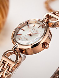 Women's Dress Watch Bracelet Watch Quartz Japanese Quartz / Alloy Band Casual Silver Rose Gold Brand