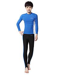 Outros Mulheres / Homens Roupas de Mergulho Fato de Mergulho Compressão Roupas de mergulho 2,5-2,9 mm Rosa / Azul S / M / L Mergulho