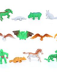 exibição do modelo Animais Especial Brinquedos Originais Para Meninos / Para Meninas Plástico