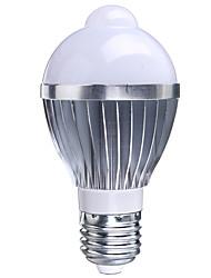 5W B22 / E26/E27 Ampoules LED Intelligentes A50 1 LED Haute Puissance 400-550 lm RVB Capteur AC 85-265 V 1 pièce