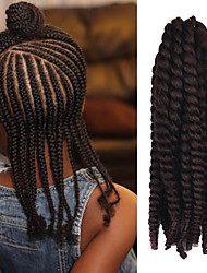 "12"" Kid's Kanekalon Synthetic 2X Havana Mambo Twist 100g Hair Braids with Free Crochet Hook"