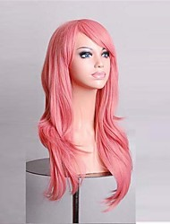 Cosplay Wigs 28 Inch Pink Fasion Full Synthetic Wigs