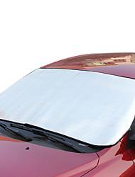 Silber vordere Isolierung Windschutzscheibe Sonnen Anti-UV-Autosonnenschutz 150 * 70cm