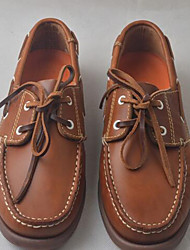 Men's Shoes Leather Casual Clogs & Mules Casual Walking Low Heel Others Brown