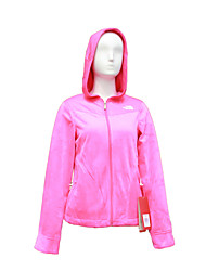 The North Face Women's OSITO Denali Fleece Hoodie Jacket Outdoor Sports Trekking Running Full Zipper Jackets