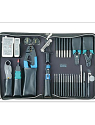 Pro'skit 33 PCS Network Test and Maintenance Tool Set