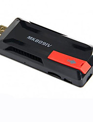 mk809ⅳ rockchip android 4.4 Smart TV dongle quad core 2G ram 8g rom preto / branco