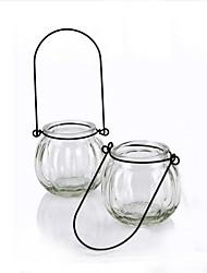 Modern Style Transparent Glass Vase