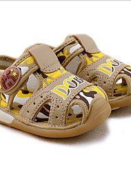 Boy's Sandals Summer Comfort / Sandals Cotton Casual Others Blue / Camel