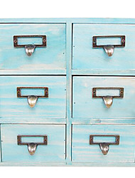 Table Mini Wooden Jewelry Cabinets Japan Drawer Lockers Three Small Retro Kitchen Cabinet