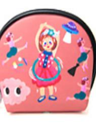 Women PU Casual Cosmetic Bag White / Pink / Black