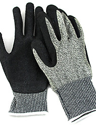 Cut Resistant Level 5 Certified Anti-Puncture Steel Wire Cut-Resistant Gloves Dipped