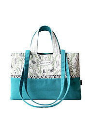 Flower Princess® Women Canvas Tote Green-1601DS001