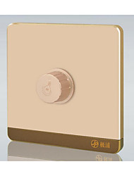 86 Type Bright Outfit Dimmer Switch / Gold Non - Polar Dimmer Switch