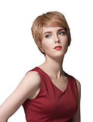 European Style Ultrashort Human Hair Wigs For Women