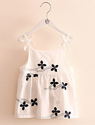 Baby Girls Bow Sling New Children'S Clothing Children Butterfly Tops