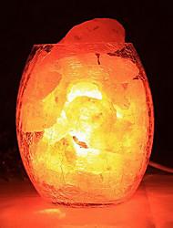 декоративные гималайская соль хрустальные европейская маленькая лампа творческой спальня теплые звёздная ночь