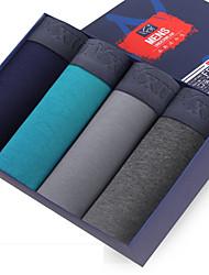 FEIXIU® Men's Cotton Underwear Health 4 Colour(1 Pcs/Box)
