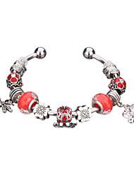 Bracelet Charmes pour Bracelets / Bracelets Rigides / Manchettes Bracelets / Bracelets de rive / Bracelets en ArgentAlliage / Acrylique /