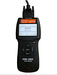 2016 Fault Scanning D900 Canbus Obd2 Code Reader Supports Multiple Models Handheld Reading Code
