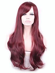 onda Harajuku parrucca parrucche Pelo parrucche sintetiche naturali riscaldano donne Perruque resistenti parrucche parrucche Sintéticas