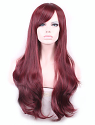 harajuku onda Pelucas peluca Pelo pelucas sintéticas naturales calientan las mujeres perruque resistentes pelucas pelucas Sintéticas