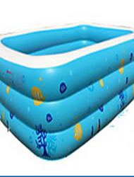 la casa de la piscina de adultos bebé inflable del juguete del bebé engrosamiento gran piscina de bolas