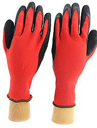 Flower Gardening PU Dipped Latex Gloves Wear Gloves