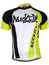 Esportivo Camisa para Ciclismo Homens Manga Curta Moto Respirável / Redutor de Suor Camisa + Shorts / Blusas / FundosTerylene / Tactel /