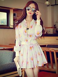 Pink Doll® Women's Above Knee Print Skirt-X14CSK116