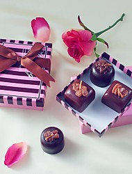 Beter Gifts® Recipient Gifts - Chocolate Design Candle Favor in GiftBox DIY Wedding Tea Party Favors