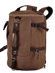 Для мужчин Полотно На каждый день Для отдыха на природе Дорожная сумка Черный 2 #