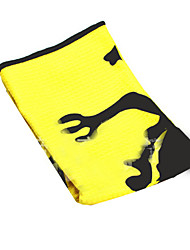 Manufacturer To Supply Customized Golf Merbau Waffle Towel Wipes Movement Suction Cue To Clean Towel