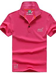 Autres Homme Doux Sport de détente Hauts/Tops / Tee-shirt Blanc / Rouge / Gris / Noir