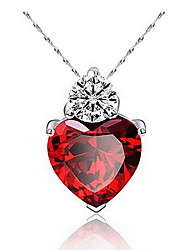 Women's Pendant Necklaces Alloy Love Fashion Jewelry 147 Daily Casual 1pc